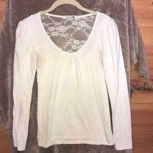 Forever 21 long sleeve white shirt